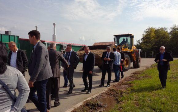 """Feierliche Eröffnung der Biogasanlage """"Gakovac"""" doo, Stara Moravica"""