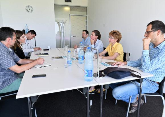 Treffen mit dem UNDP-Team