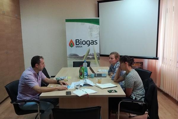 Udruženje Biogas posetili predstavnici francuske kompanije