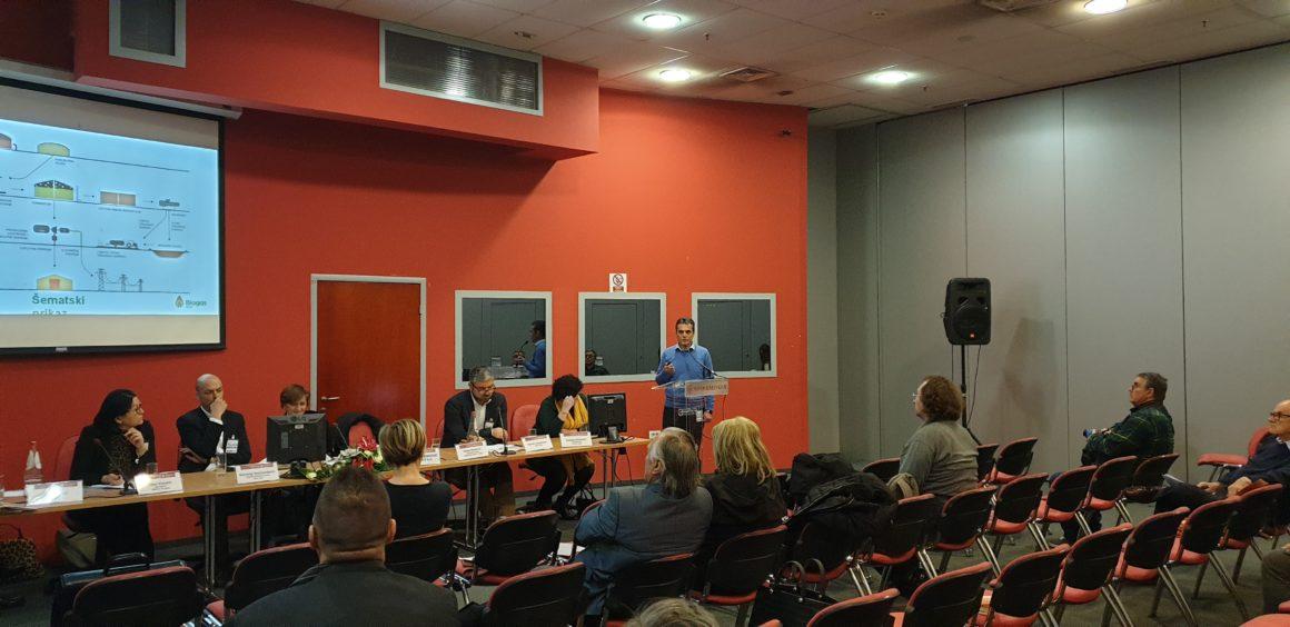 Presentation of the Serbian Biogas Association at the Energy Days in Novi Sad