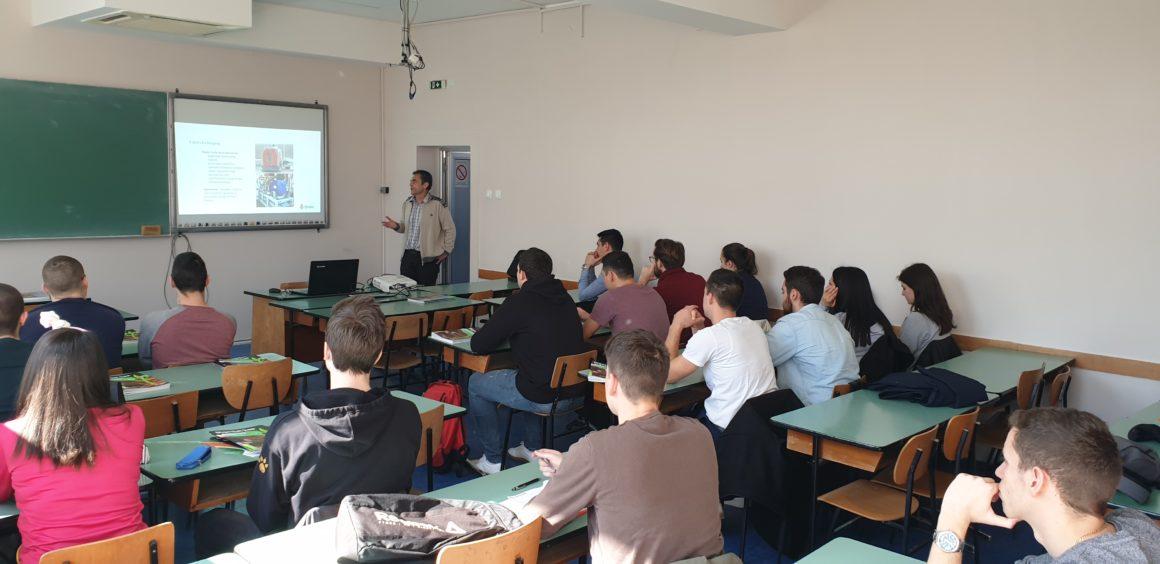 Prezentacija Udruženja Biogas na Fakultetu tehničkih nauka u Novom Sadu