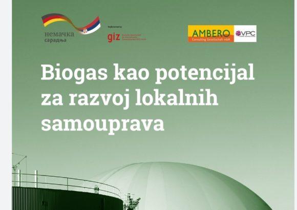 """Priručnik """"Biogas kao potencijal za razvoj lokalnih samouprava"""""""